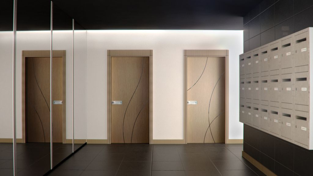 Porte d interieur design contemporain for Amenagement interieur design contemporain