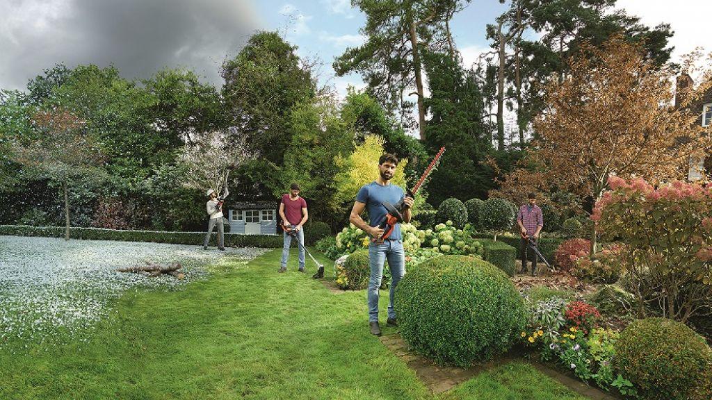 Nouveauté BLACK+DECKER outil polyvalent pour le jardin toute l\'année