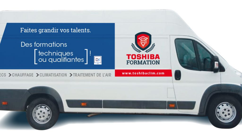 TOSHIBA AIRCONDITIONING lance des formations mobiles techniques et qualifiantes